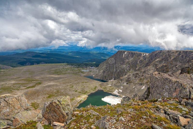 Τοπίο βουνών, στοκ φωτογραφίες