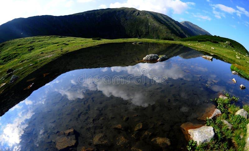 τοπίο βουνών στοκ φωτογραφίες