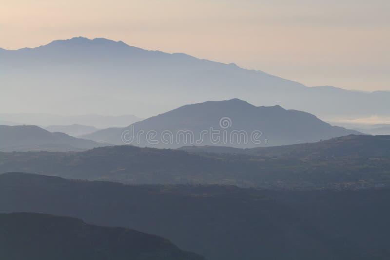 τοπίο βουνών 2 Κρήτη στοκ φωτογραφία με δικαίωμα ελεύθερης χρήσης