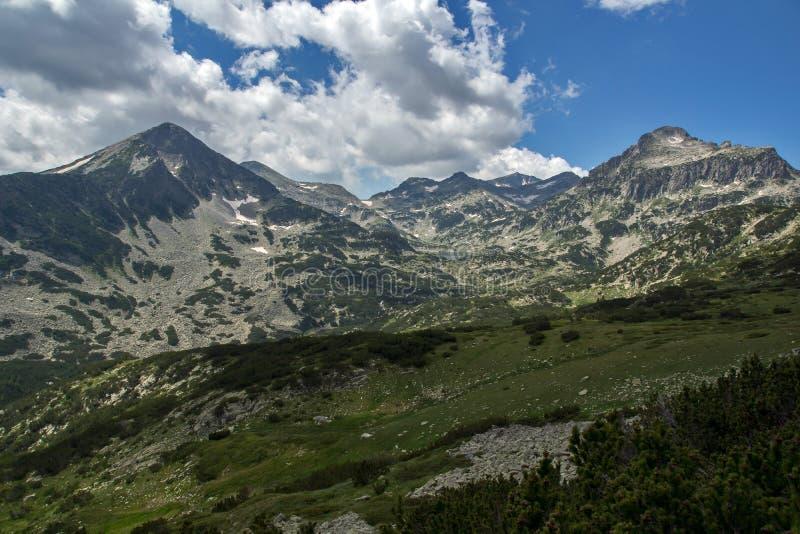 Τοπίο βουνών Pirin στοκ εικόνες