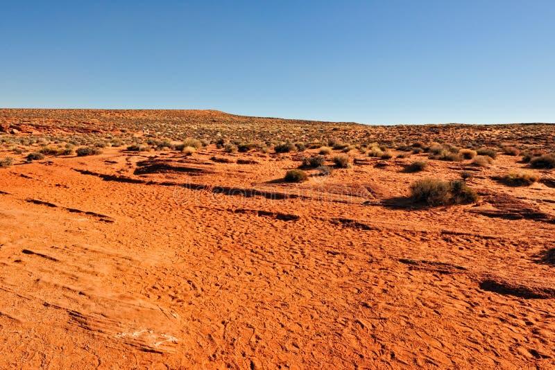 τοπίο ερήμων της Αριζόνα στοκ εικόνα με δικαίωμα ελεύθερης χρήσης