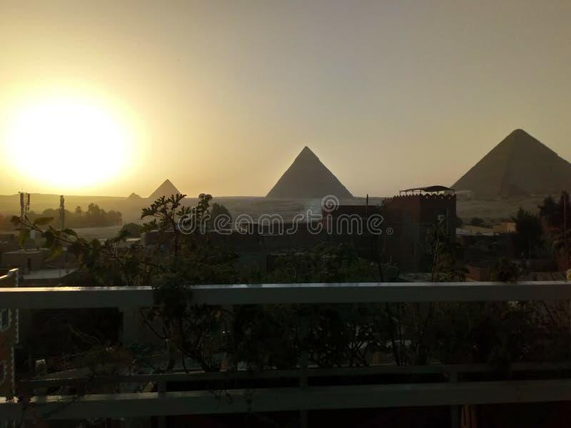 Τοπίο ερήμων της Σαχάρας στην Αίγυπτο στοκ εικόνες
