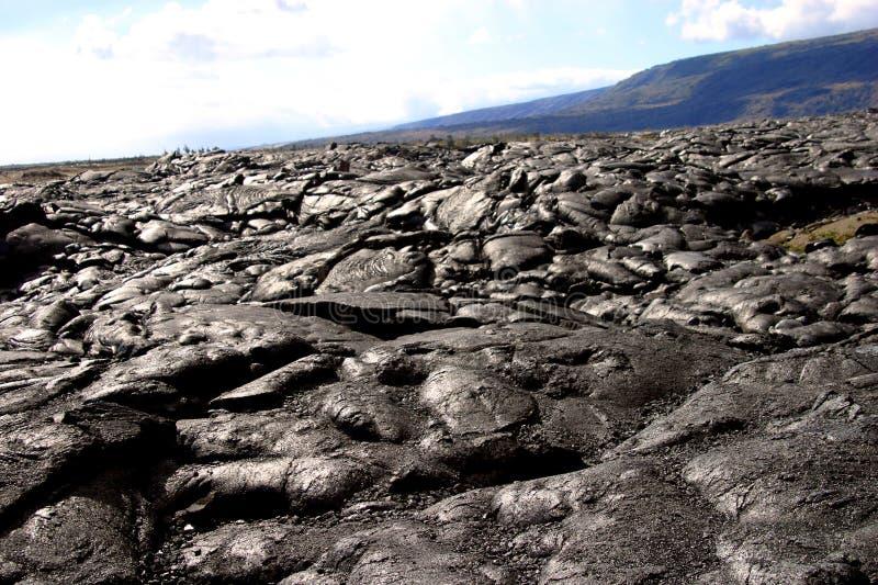 τοπίο ηφαιστειακό Στοκ φωτογραφία με δικαίωμα ελεύθερης χρήσης