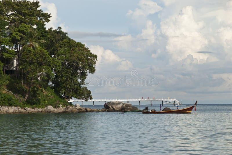 Τοπίο θάλασσας, Phuket, Ταϊλάνδη στοκ εικόνες