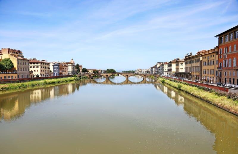 Τοπίο Ιταλία πόλεων της Φλωρεντίας ή Φλωρεντιών στοκ εικόνες