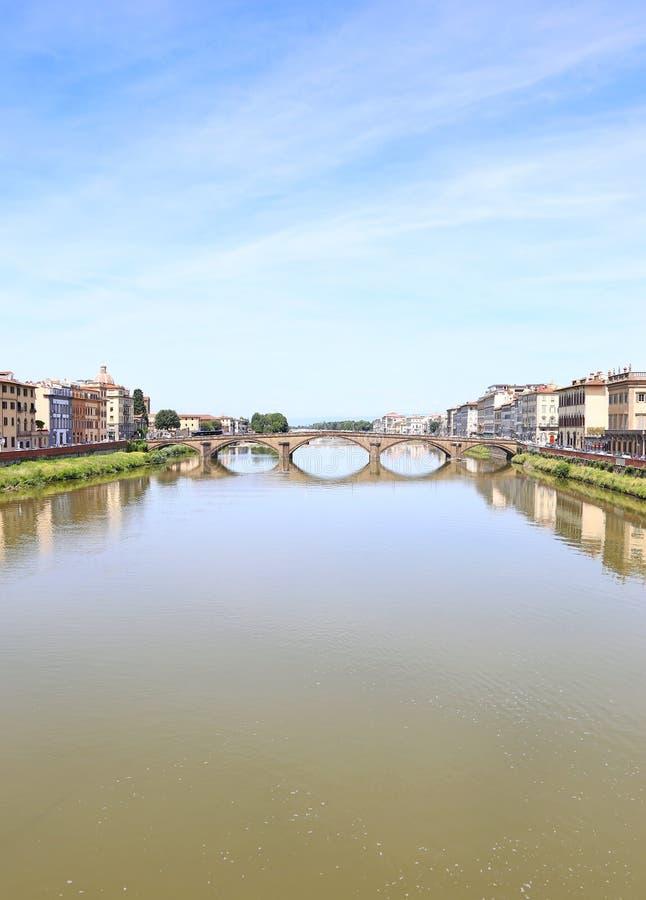 Τοπίο Ιταλία πόλεων της Φλωρεντίας ή Φλωρεντιών στοκ φωτογραφία