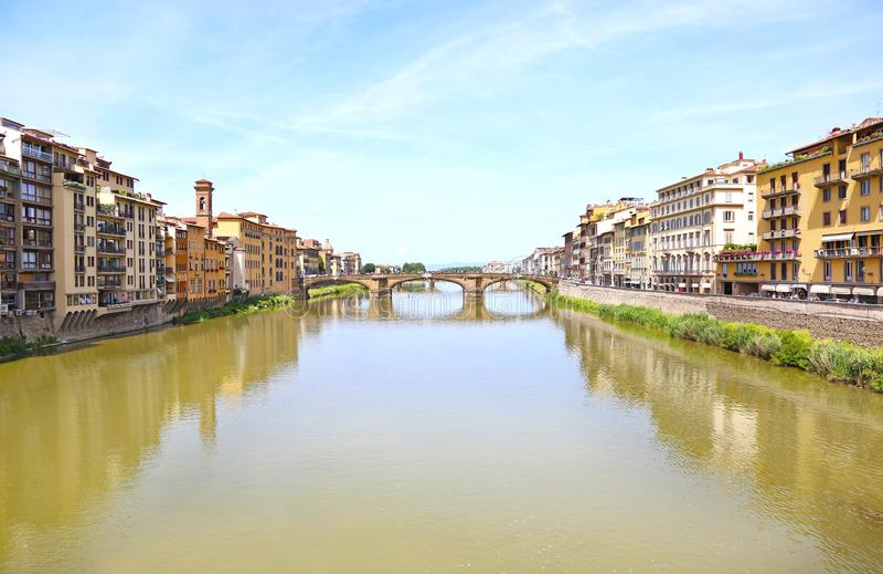 Τοπίο Ιταλία πόλεων της Φλωρεντίας ή Φλωρεντιών στοκ εικόνες με δικαίωμα ελεύθερης χρήσης