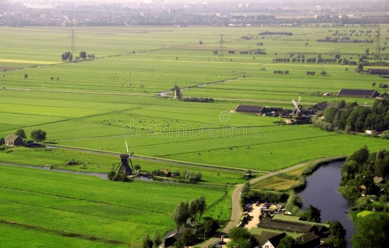τοπίο Κάτω Χώρες στοκ φωτογραφίες