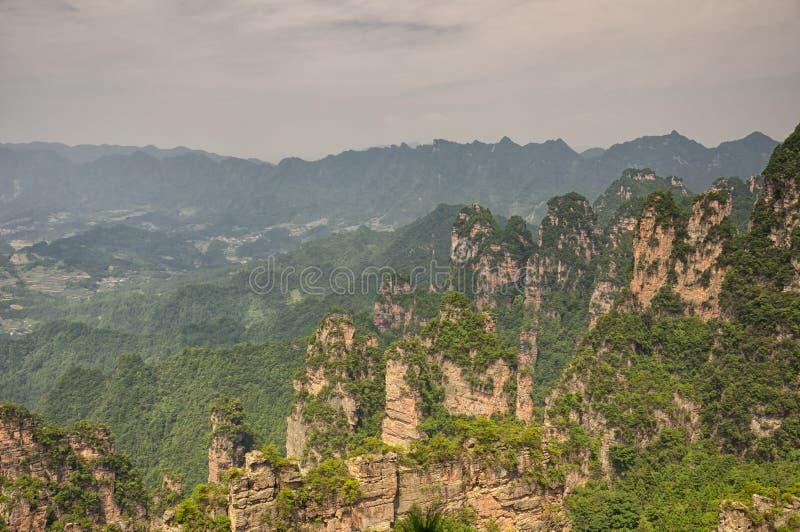 Τοπίο Κίνα Zhangjiajie στοκ εικόνες
