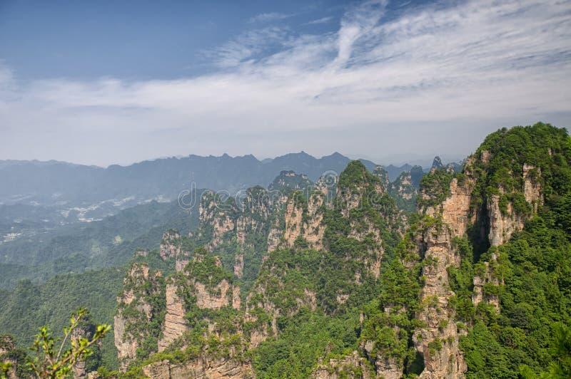 Τοπίο Κίνα Zhangjiajie στοκ φωτογραφίες