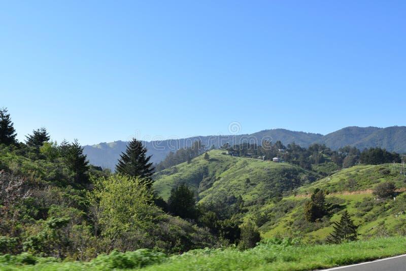 Τοπίο Καλιφόρνιας στοκ εικόνα
