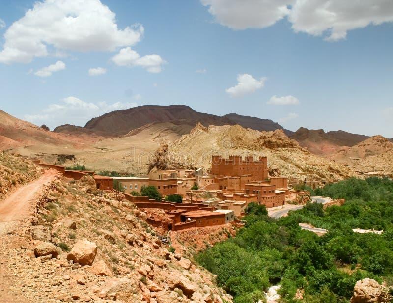 τοπίο Μαροκινός στοκ φωτογραφία