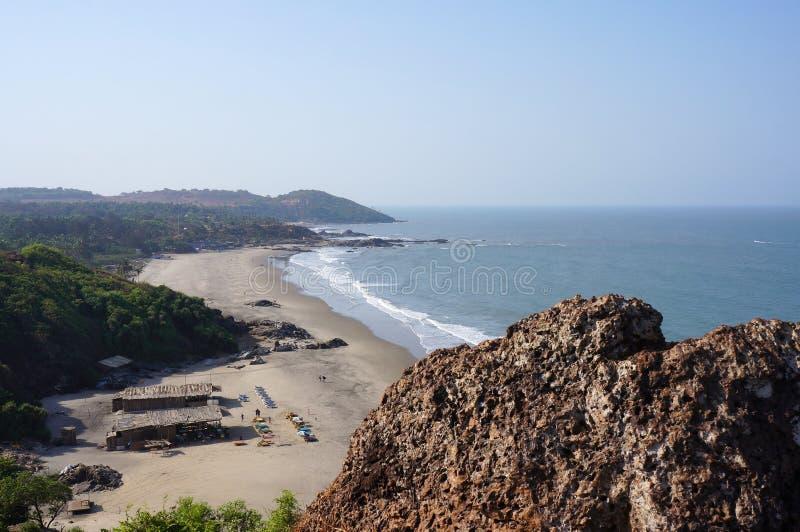 Τοπίο με τις παραλίες και τον Ινδικό Ωκεανό στοκ φωτογραφία με δικαίωμα ελεύθερης χρήσης