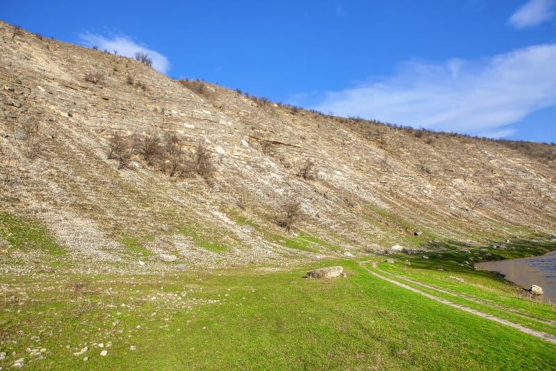 Τοπίο με το λόφο στοκ εικόνες