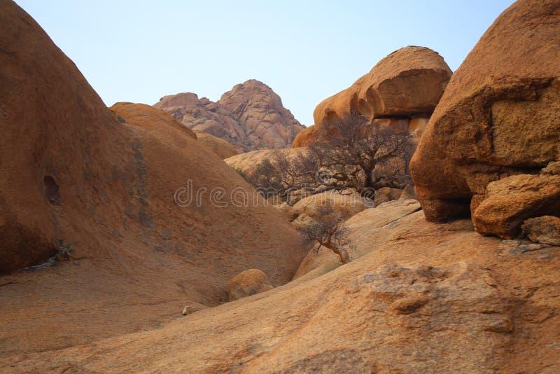 τοπίο Ναμιμπιανός στοκ εικόνες με δικαίωμα ελεύθερης χρήσης