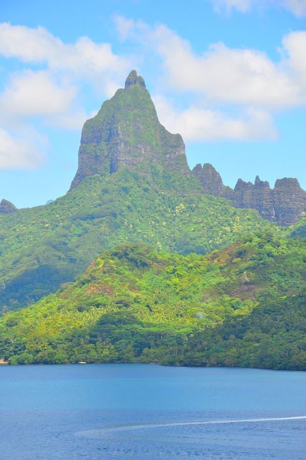 Τοπίο νησιών της Ταϊτή στοκ φωτογραφία