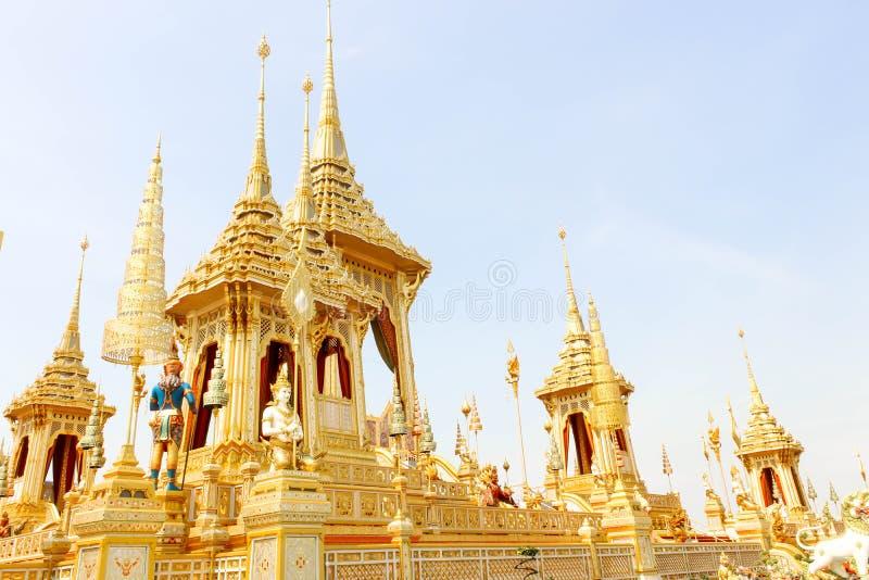 Τοπίο οι συμπληρωματικές δομές γύρω από το βασιλικό κρεματόριο στις 4 Νοεμβρίου 2017 στοκ φωτογραφία με δικαίωμα ελεύθερης χρήσης