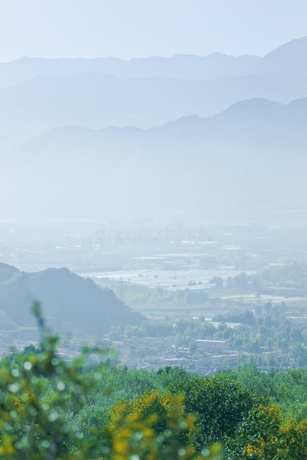 τοπίο ορεινός Θιβετιανός στοκ φωτογραφία με δικαίωμα ελεύθερης χρήσης