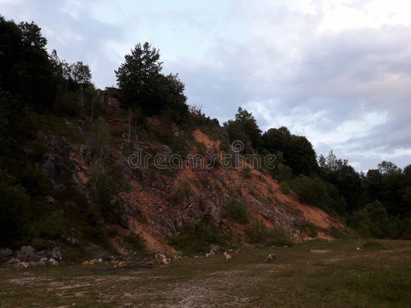 τοπίο ορεινό στοκ εικόνες