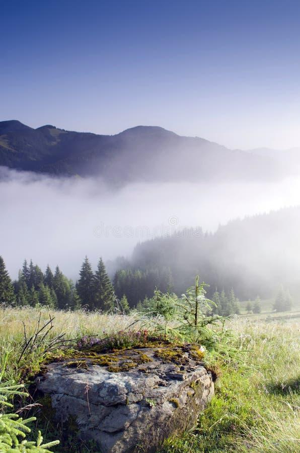 Τοπίο οροπέδιων βουνών στοκ φωτογραφίες