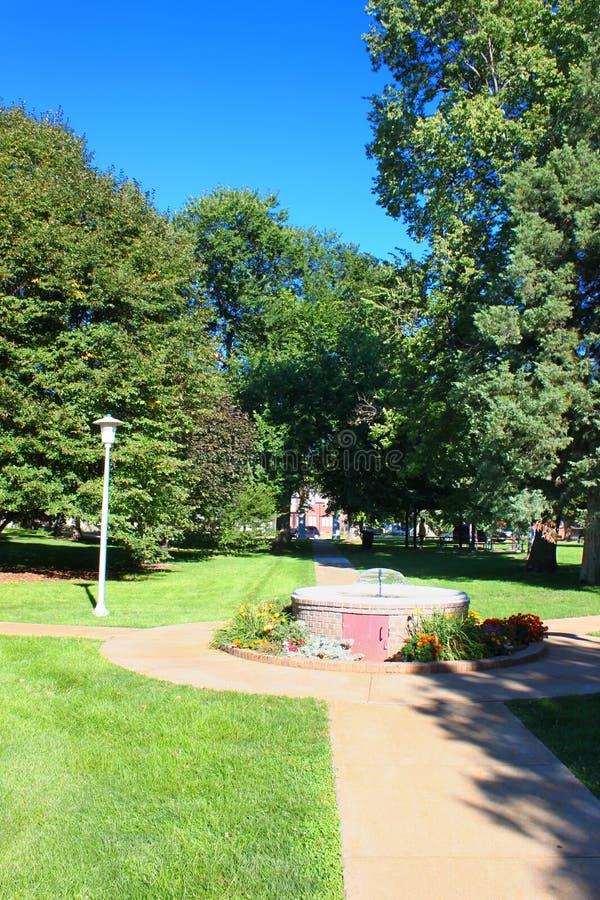 Τοπίο πάρκων του Γκέτεμπουργκ Νεμπράσκα Ehman στοκ φωτογραφία με δικαίωμα ελεύθερης χρήσης