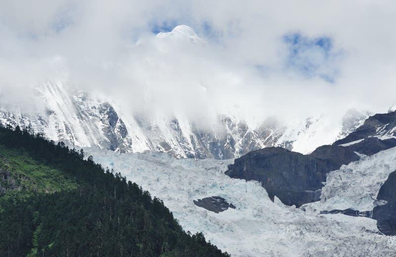 Τοπίο παγετώνων στοκ εικόνες με δικαίωμα ελεύθερης χρήσης