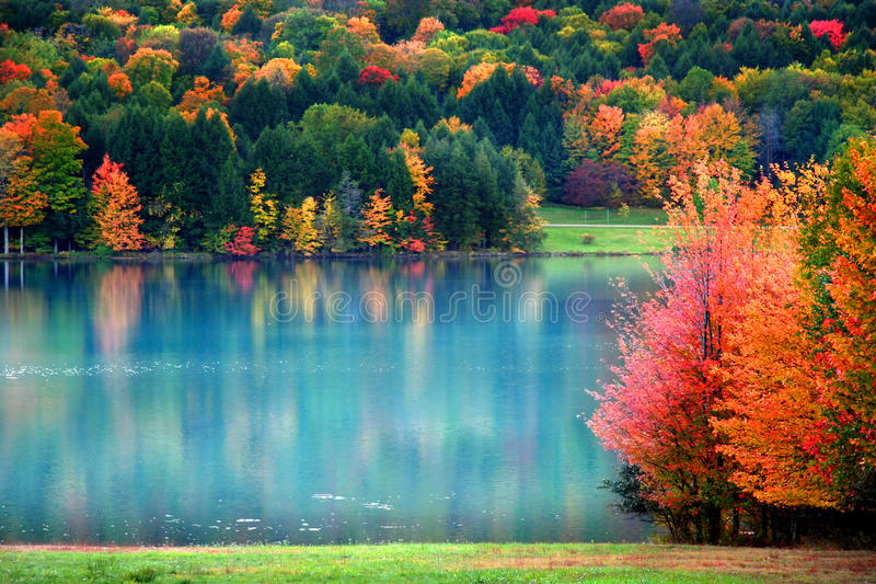 τοπίο Πενσυλβανία φθινο&pi στοκ φωτογραφίες