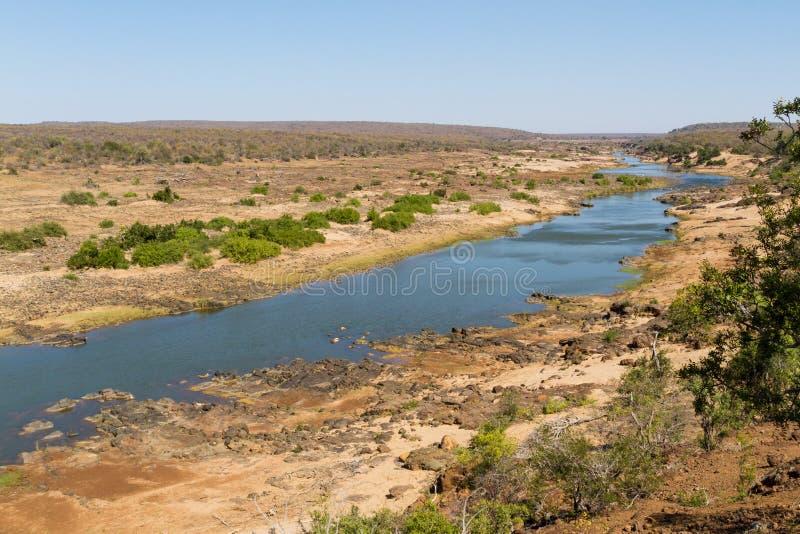 Τοπίο ποταμών Letaba στοκ φωτογραφία