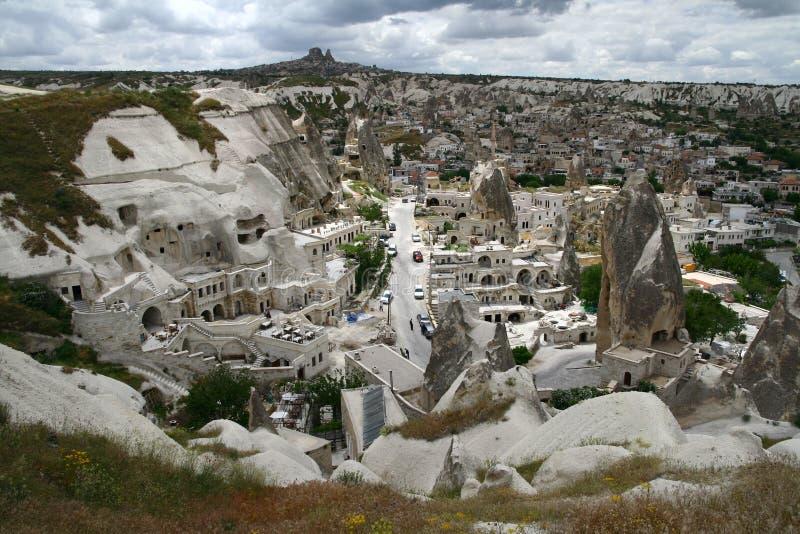 Τοπίο πόλεων Cappadocia στοκ φωτογραφίες με δικαίωμα ελεύθερης χρήσης