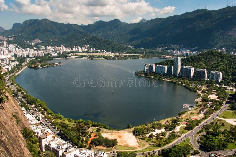 τοπίο Ρίο de janeiro στοκ εικόνες με δικαίωμα ελεύθερης χρήσης