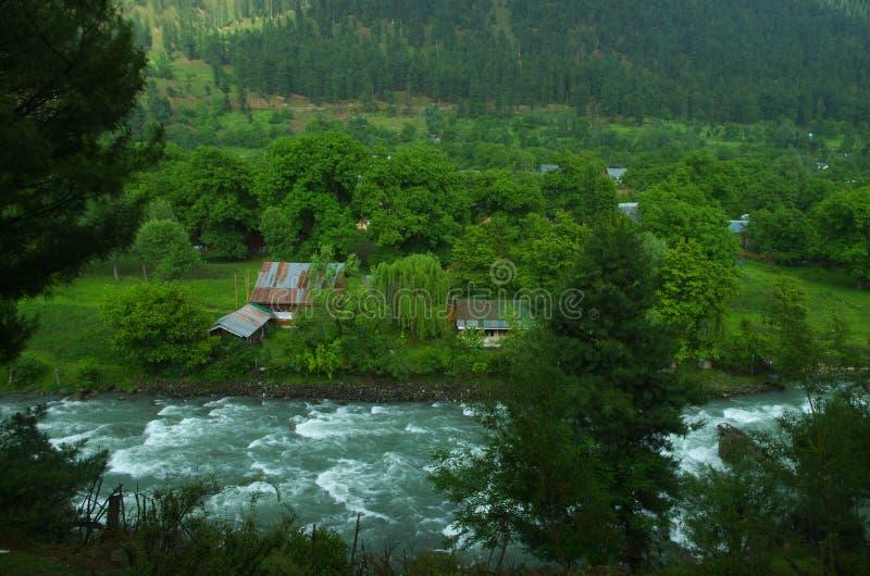 Τοπίο σε pahalgam-6 στοκ φωτογραφία με δικαίωμα ελεύθερης χρήσης