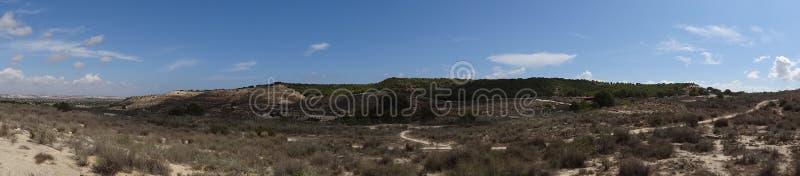 Τοπίο στην Ισπανία στοκ εικόνα