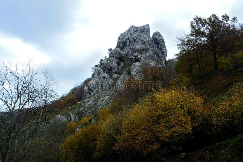 Τοπίο στο Picos de Europa στις Αστούριες στοκ φωτογραφία