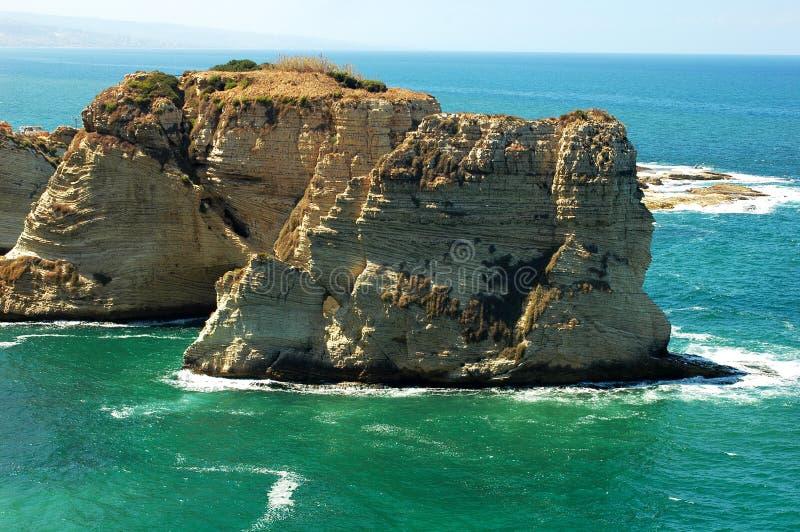 τοπίο της Βηρυττού Λίβανο& στοκ φωτογραφίες