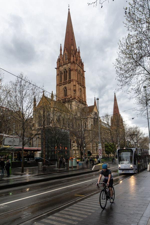 Τοπίο της Μελβούρνης στοκ εικόνες με δικαίωμα ελεύθερης χρήσης