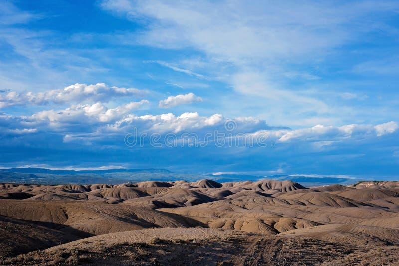 Τοπίο της πλίθας Badlands στο Κολοράντο στοκ εικόνες με δικαίωμα ελεύθερης χρήσης