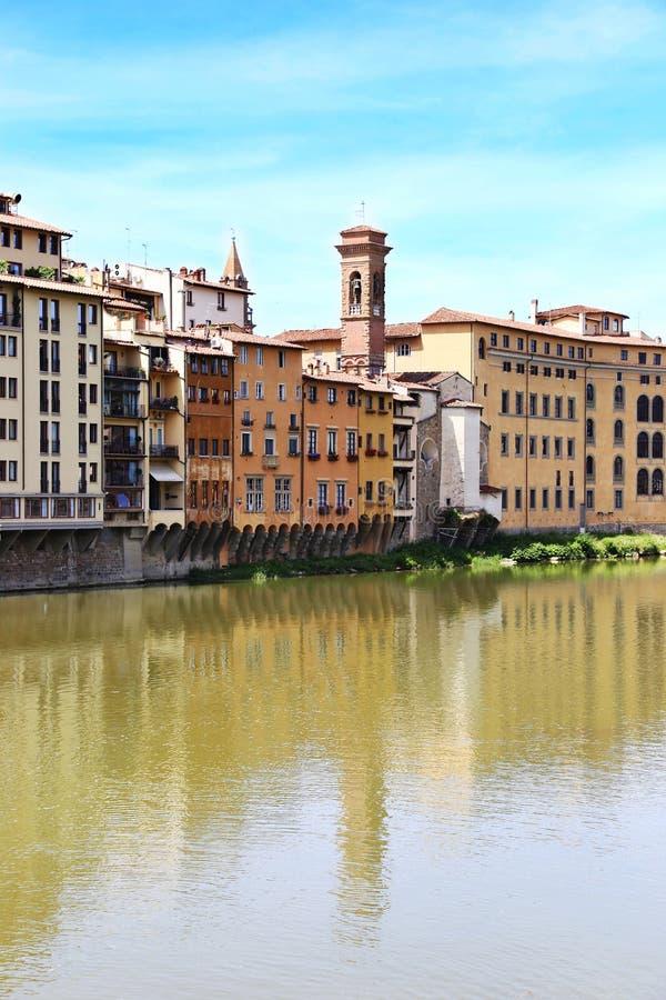 Τοπίο Τοσκάνη Ιταλία πόλεων της Φλωρεντίας ή Φλωρεντιών στοκ εικόνα με δικαίωμα ελεύθερης χρήσης