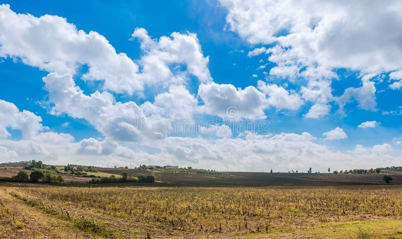 τοπίο Τοσκάνη στοκ φωτογραφία με δικαίωμα ελεύθερης χρήσης