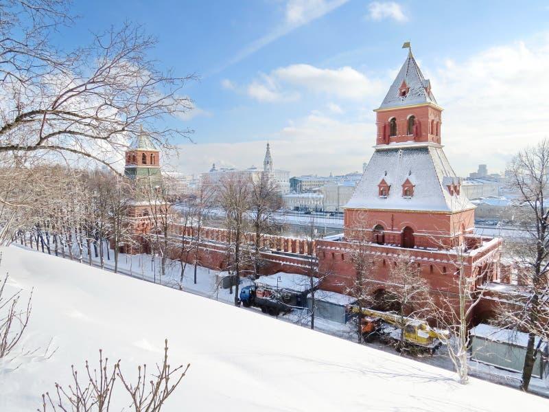 Τοπίο του Κρεμλίνου στοκ φωτογραφία με δικαίωμα ελεύθερης χρήσης