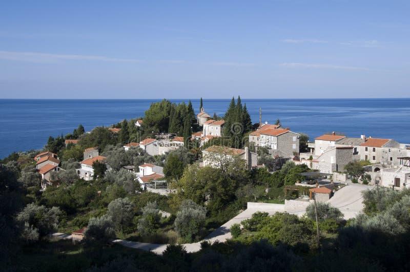 Τοπίο του Μαυροβουνίου στοκ φωτογραφία