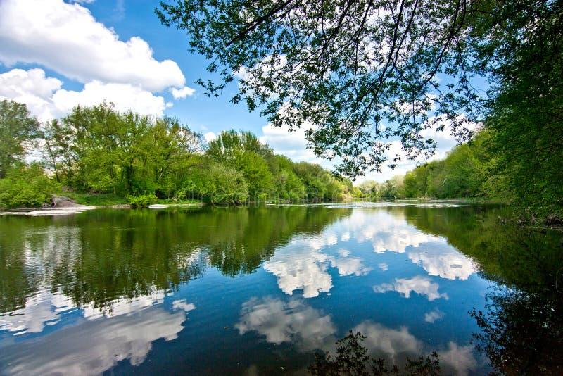 Τοπίο του ποταμού Ros στοκ εικόνες