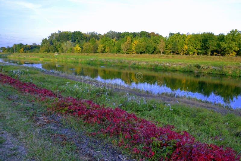 Τοπίο το φθινόπωρο στοκ εικόνα με δικαίωμα ελεύθερης χρήσης