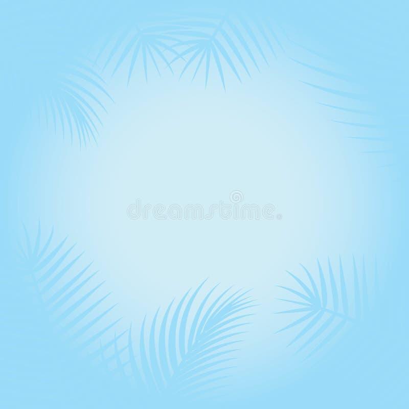 τοπίο τροπικό διανυσματική απεικόνιση