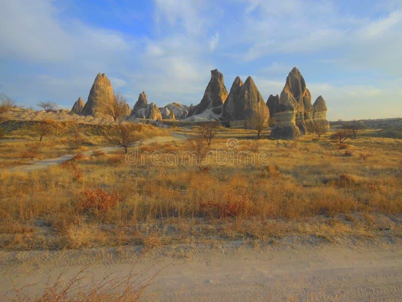 Τοπίο των ηφαιστειακών στυλοβατών βράχου στοκ φωτογραφίες με δικαίωμα ελεύθερης χρήσης
