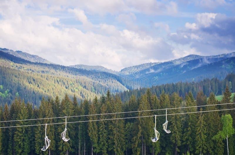 Τοπίο των Καρπάθιων βουνών στοκ φωτογραφία με δικαίωμα ελεύθερης χρήσης