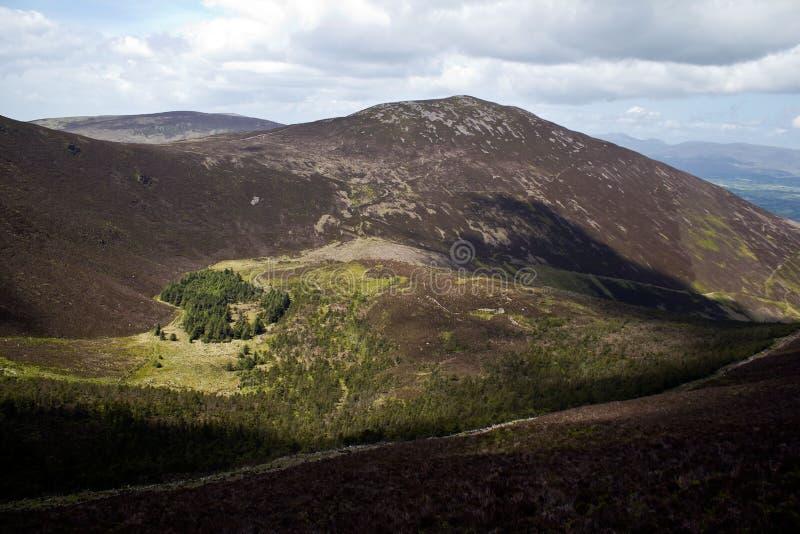 Τοπίο των Knockmealdown Mts στοκ εικόνα με δικαίωμα ελεύθερης χρήσης