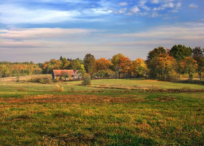 Download τοπίο φθινοπώρου στοκ εικόνα. εικόνα από οικολογία, πτώση - 1534743