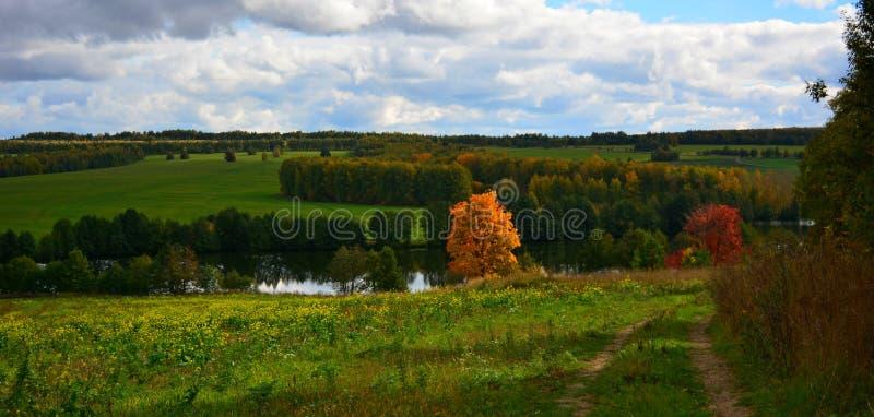 Τοπίο φθινοπώρου στοκ φωτογραφίες