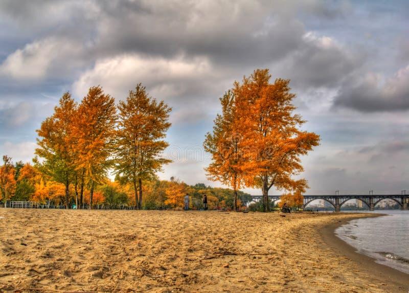 τοπίο φθινοπώρου hdr στοκ φωτογραφία με δικαίωμα ελεύθερης χρήσης