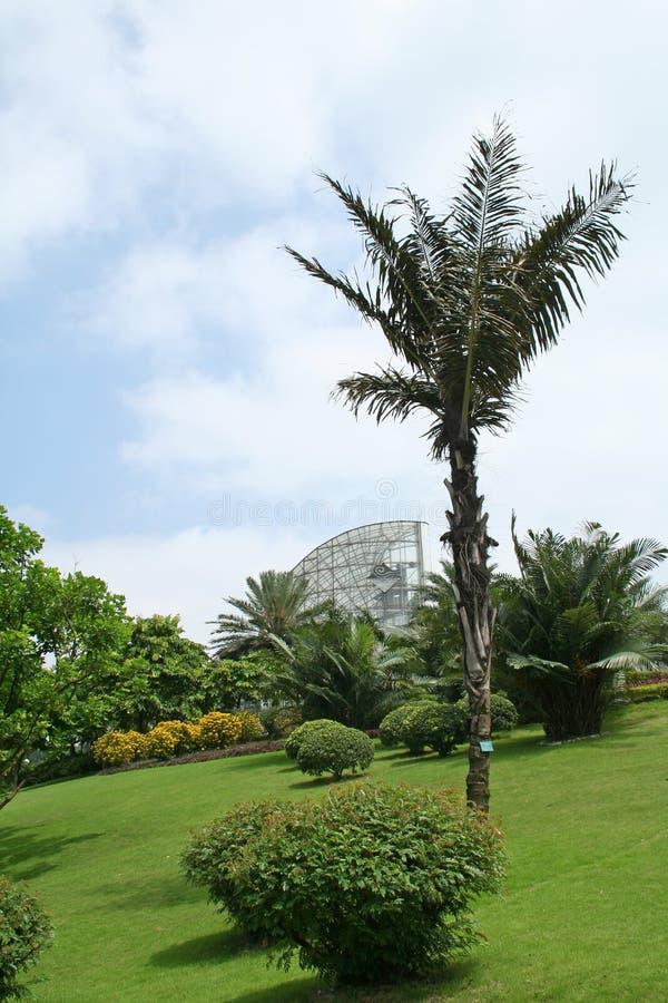 τοπίο 2 κήπων στοκ φωτογραφία